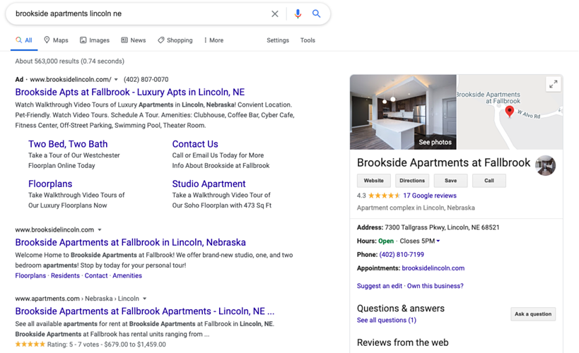 Google-Apartment-Search-Screenshot