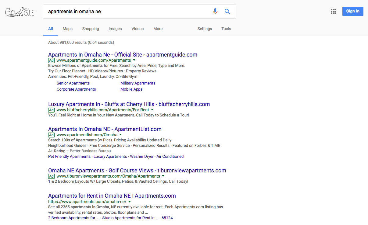 google-serp-apartments-omaha-march-2017.png