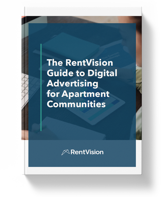 The RentVision Guide to Digital Advertising for Apartment Communities Cover Photo
