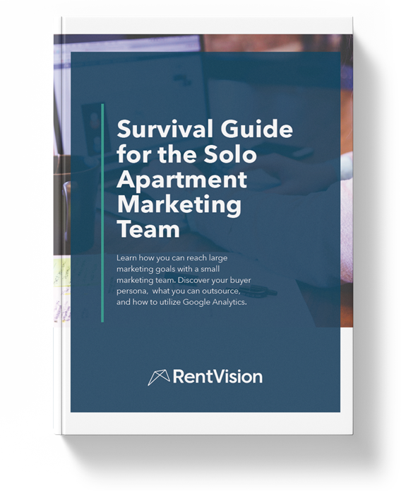 Survival Guide for the Solo Apartment Marketer Cover Photo