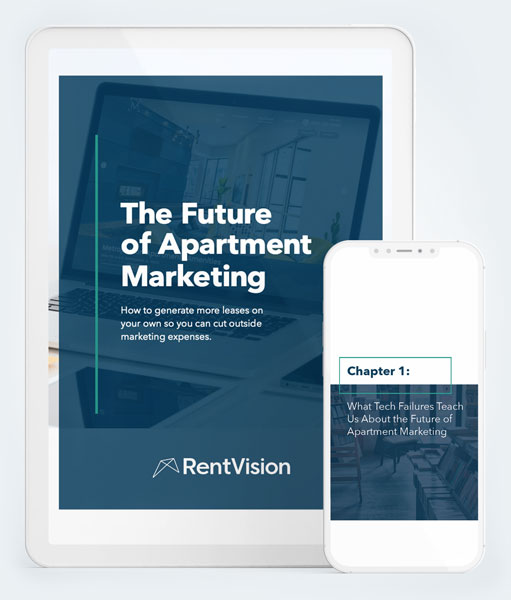 Cover of The Future of Apartment Marketing Ebook