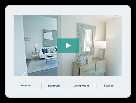Apartment walkthrough video tour