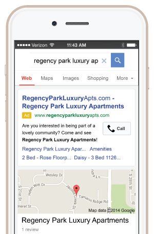 Apartment Pay-Per-Click Advertising